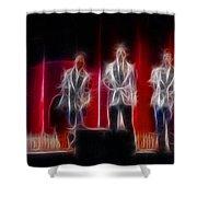 Huey Lewis-ga11a-fractal Shower Curtain