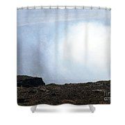 Huff And Puff Shower Curtain