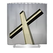 Huge Cross  Shower Curtain