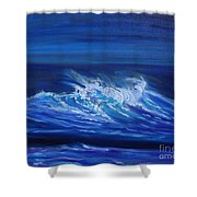 Wave V Jenny Lee Discount Shower Curtain
