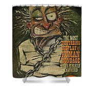 Hugh Dini Poster Shower Curtain