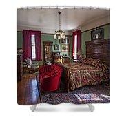 Huguette Clark's Bedroom -- Butte Montana Shower Curtain