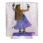 Hula Series Malia Shower Curtain
