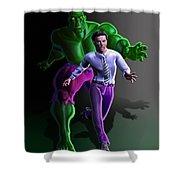 Hulk - Bruce Alter Ego Shower Curtain