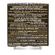 Human Carnival Sideshows And Other Oddities Of The World 20130625bwwa85 Shower Curtain