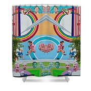 Human Connection Shower Curtain
