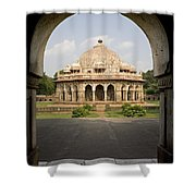Humayuns Tomb, India Shower Curtain