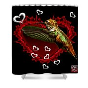 Hummingbird - 2055 F Shower Curtain