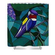 Hummingbird Hamlet Shower Curtain