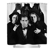 Humphrey Bogart In The Black Legion 1937 Shower Curtain