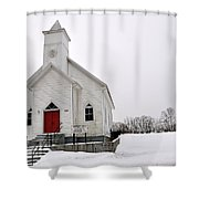 Humphreys Chapel Shower Curtain
