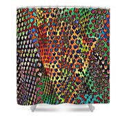 Hundreds Of Hearts... Shower Curtain
