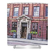 Hung Drawn And Quartered Shower Curtain