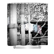 Hung To Dry Shower Curtain