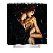Hunger  Shower Curtain
