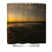 Hunstanton Sunset Shower Curtain