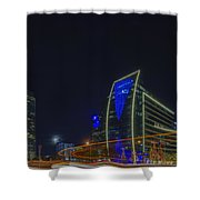 Hunt Oil And Museum Tower Shower Curtain