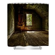 Hunted House In The Daylight Shower Curtain