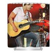 Musician Hunter Hayes Shower Curtain
