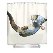Hunter Shower Curtain