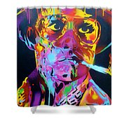 Hunter S Thompson Shower Curtain