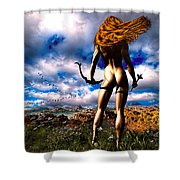 Hunting Edens Edge Shower Curtain by Bob Orsillo