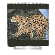 Hunting In The Hills Shower Curtain