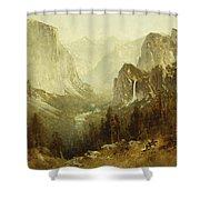 Hunting In Yosemite Shower Curtain