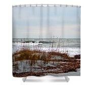 Hunting Island Beach Shower Curtain