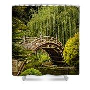 Huntington Japanese Garden No 3 Shower Curtain