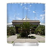 Huntington Library Conservatory Shower Curtain