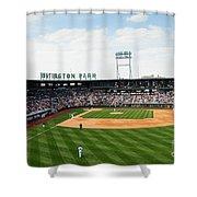D24w-243 Huntington Park Photo Shower Curtain