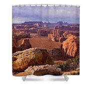 Hunts Mesa Arizona Shower Curtain