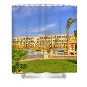 Hurghada Hotel 02 Shower Curtain