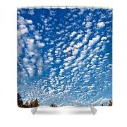 Huron Sky 4 Shower Curtain