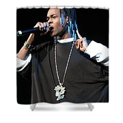 Hurricane Chris Shower Curtain
