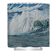 Hurricane Ike Shower Curtain