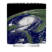 Hurricane Katrina Shower Curtain