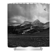 Hurricane Pass Storm Shower Curtain
