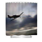 Hurricane Sting  Shower Curtain
