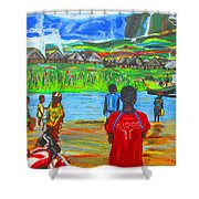 Hurry Up There - Ryan Giggs Tribute Shower Curtain