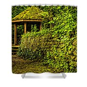 Hut In The Forest Shower Curtain