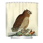Hutum Owl  Shower Curtain