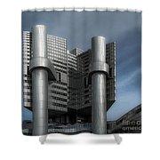 Hvb Building Shower Curtain