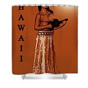 Travel To The Aloha State Shower Curtain
