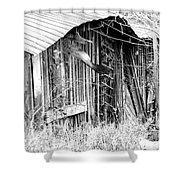Hwy 61 La Shed Shower Curtain