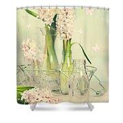 Hyacinth Arrangement Shower Curtain