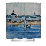 Hyannis Harbor Shower Curtain
