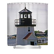 Hyannis Harbor Replica Shower Curtain