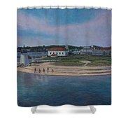 Brant Point Beach, Nantucket, Ma Shower Curtain